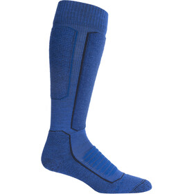 Icebreaker Ski+ Medium OTC Socks Herre Surf/Midnight Navy